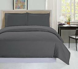 Utopia Bedding 3 Piece Queen Duvet Cover Set with 2 Pillow S