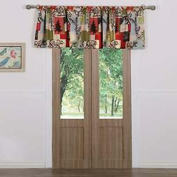 Greenland Home Fashions Rustic Lodge Window Valance Multi