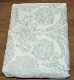 Pottery Barn Samantha Damask Sateen Duvet Cover King Cal Kin