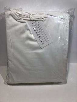 Parachute Sateen Duvet Cover Color White Size Full/Queen Ful