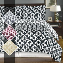 Sierra 100% Washed Cotton Duvet Cover 2-3 Piece Reversible U