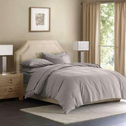 Madison Park Signature MPS12-081 Cotton Linen Blend Duvet Co