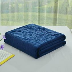 Soft Velvet Removable Duvet Cover for Weighted Blanket 60x80