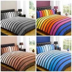 Soho Striped Duvet Cover Sets Bedding For Boys Mens Kids Bed