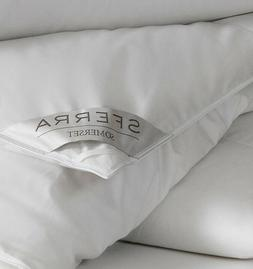 SFERRA SOMERSET WHITE GOOSE DOWN COMFORTER / DUVET WITH 700+