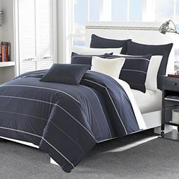 Nautica Southport Duvet Cover & Sham Set, Size Twin - Blue