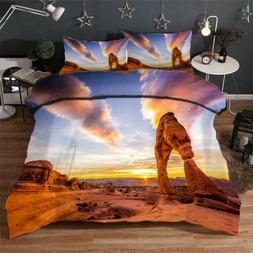 Style And Features 3D Quilt Duvet Doona Cover Set Single Dou