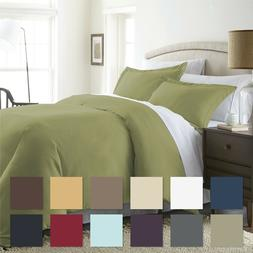 The Home Collection - 3 Piece Premium Duvet Cover Set - Prem