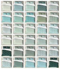 Turquoise Duvet Cover Set Twin Queen King Sizes with Pillow