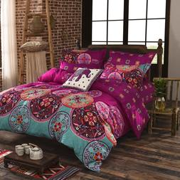 Twin/Full/Queen/King Size Bedding Sets Bohemian Style mandal