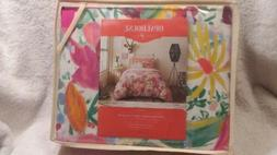 Twin/XL Opalhouse Mercado Floral Duvet Cover Set Reversible