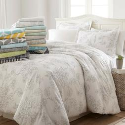 Ultra Soft 3 Piece Patterned Duvet Cover Set Spring Collecti