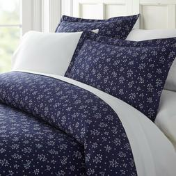 Home Collection Ultra Soft Midnight Blossoms Pattern 3 Piece