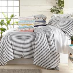 Home Collection Ultra Soft Patterned 3 Piece Duvet Cover Set