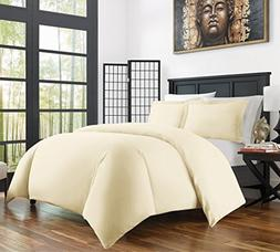 Zen Bamboo Ultra Soft 3-Piece Bamboo Derived Rayon Duvet Cov