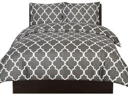 Utopia Bedding Printed Duvet Cover Set  - Luxurious Brushed