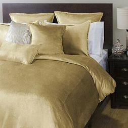 Velvet Duvet Cover and Shams - 3 Piece Set