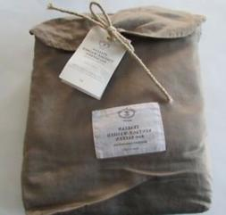 Restoration Hardware VINTAGE WASHED 600 TC SATEEN Duvet Cove