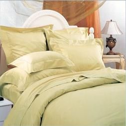 Wrinkle Free Cotton Polyester Blend 600 Thread Count Duvet C