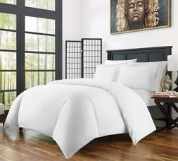 Zen Ultra Soft 3-Piece Rayon/Bamboo Duvet Cover Set, Q or K